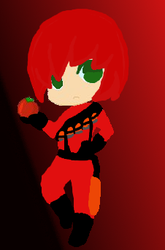 Chibi Tf2 oc Trooper (little bio included) by TheSpartanAssassin