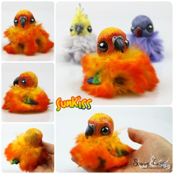SunKiss the OOAK BonBun Art Doll FOR SALE by Sovriin