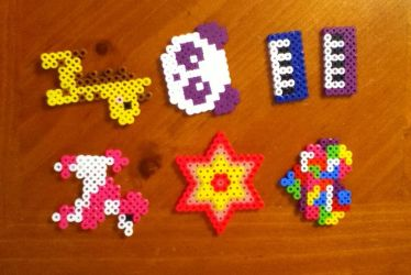 Perler bead creations Batch 2 by MinecraftMusic75