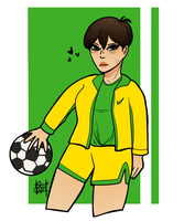 Soccer Girl by united-drawer