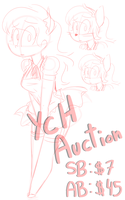 Maid Dress YCH Auction [CLOSED] by BefishProductions
