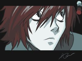 L Lawliet 2 by abbiesoctober