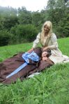 Kili and Fili - Female Version - Nap time by Spinelie