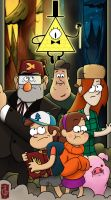 Gravity Falls by thegameworld