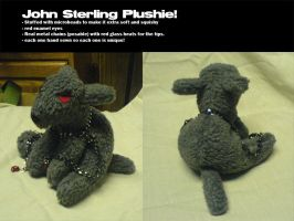 John Sterling Plushie by shadowsmyst