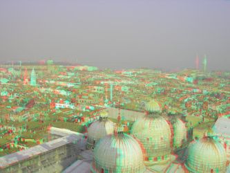 Venice 4 3D Anaglyph by yellowishhaze