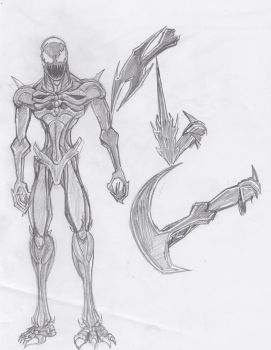 Picture a day 16: Character Design Carnage by ConstantScribbles