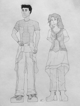 Human Civilian Concepts 2 (Project A) by AngelOfNope