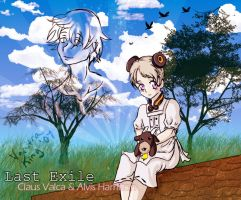 Last Exile:My Falling Star by kingv