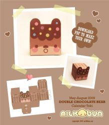 2009 M-A CHOCOLATE Calendar by milkbun