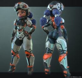 Girl Stand Deviant by jips3d