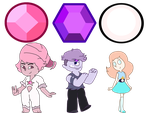 Steven Universe - CANON/FANON Crystal Gems by Myhuuse123
