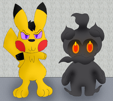 Marshadow's New Minion (For NotMolo) by Unownace