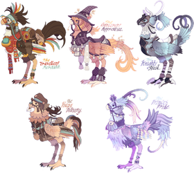 FFXIV Chocobo Adoptables [Only 1 Left!] by Plumbeck