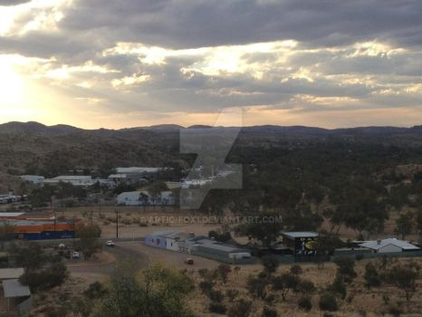 Sunset and The Ranges Of Alice Springs by Artic-Fox1