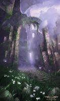 Peaceful Ruins by Nele-Diel