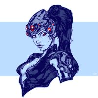 the Lacroix Widow by Igloinor