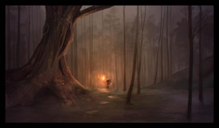 Swamp of Sadness - The Neverending Story by MokkaQuill