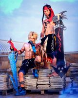 Tidus and Jecht FF Dissidia 012 Cosplay by Leon C. by LeonChiroCosplayArt
