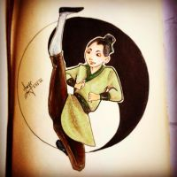 Mulan by AwyrGreen