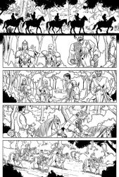 Red Sonja sample page 1 by Almayer