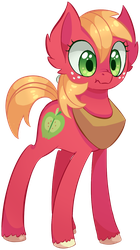 Big Mac ...as a mare? by UncertainStardust