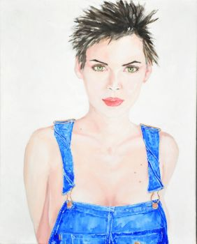 Cute portrait of Winona Ryder by VictorianExcentric