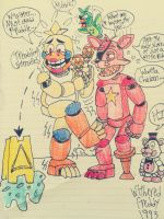 Chicken's #1 Worst Fear by WitheredFreddy1993