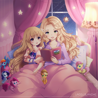 c: Fairy tales for the night by LaDollBlanche