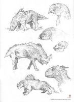Conceptual Paleo designs by MIKECORRIERO