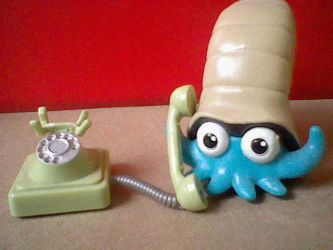 omanyte making a call by pcerise
