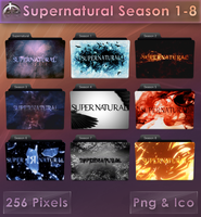 Supernatural Season 1-8 [Folder Icons] by VoidSentinel