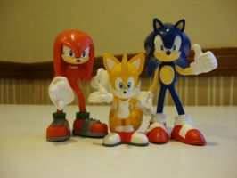 Team Sonic by 6SeaCat9