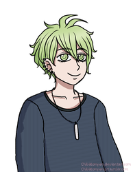 Happy birthday Rantaro! by Chibiklompen
