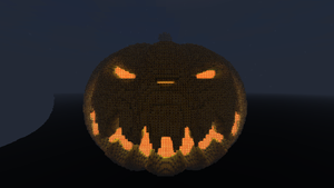 Minecraft - Pumpkin by Ludolik