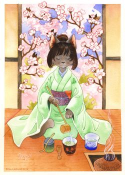 Tea ceremony by spocha