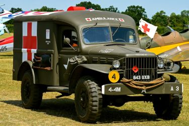 Dodge WC54 Field Ambulance by Daniel-Wales-Images