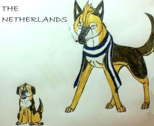 The Netherlands by yugiohfreakXD