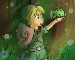 Link and Spinarak