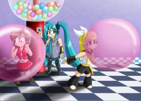 Vocaloid Bubble Cutness - Version 2 by Thiridian