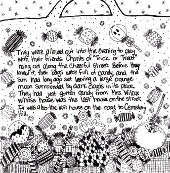 The House on Cemetery Hill~By KC Green-Pg6 by KellyCurly
