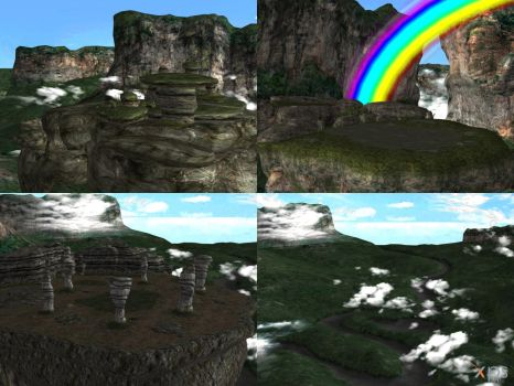DOA5 Stage Lost World by rolance