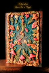 Copper mushrooms journal by Gwillieth