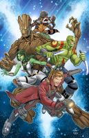 Guardians of the Galaxy  complete by jacksongee