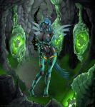 Queen Chrysalis - Wanna fill my holes? by Testament77
