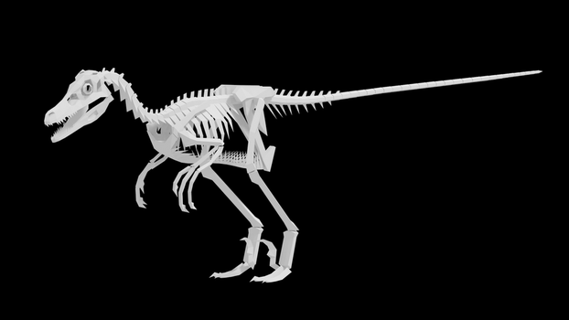 Velociraptor Project Teaser by Gedelgo