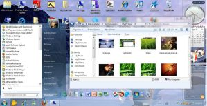 Windows 7 GL-ICY for XP by PhilipXD