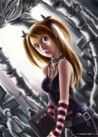misa amane by bramLeech
