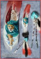 Nemean Lion Feather Commission by Dreamspirit