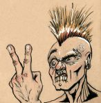 Angry Punk by charlando